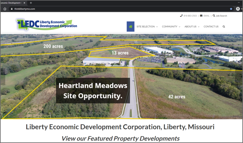 Liberty Economic Development Corporation-2020